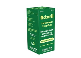 ACTERIL JARABE FCO X 120 ML