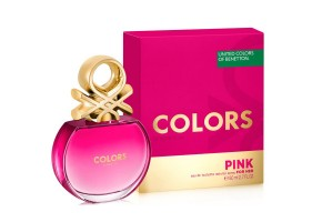 COLORS PINK EDT SPRAY FCO X 80 ML