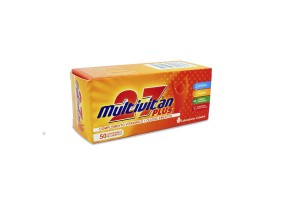 MULTIVITAN 27 PLUS CAJA X 50 COMP